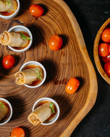 Vivre Catering Food Lumpia Canape