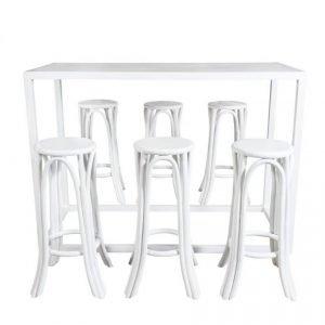 Amalfi Bar Set – White 01