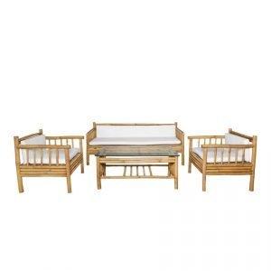 Bamboo Lounge Set 01