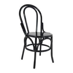 Black Bentwood Chair 01