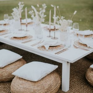 Marrakech Low Feasting Table – White 03