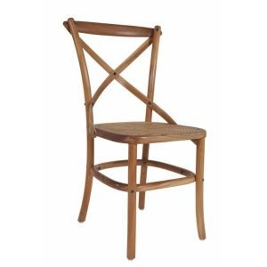 Natural Crossback Chair 01