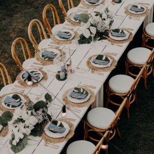 White Dining Table 02